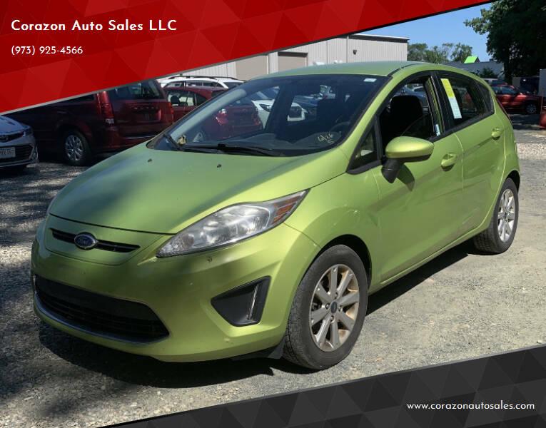 2011 Ford Fiesta for sale at Corazon Auto Sales LLC in Paterson NJ