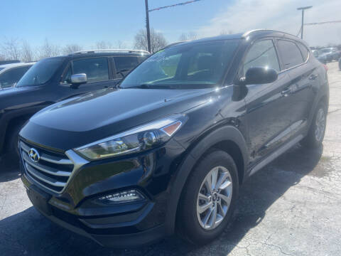 2017 Hyundai Tucson for sale at EAGLE ONE AUTO SALES in Leesburg OH
