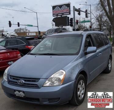2008 Kia Sedona for sale at Corridor Motors in Cedar Rapids IA