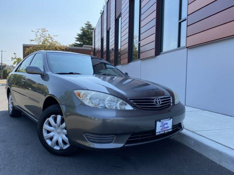 2005 Toyota Camry for sale at DAILY DEALS AUTO SALES in Seattle WA