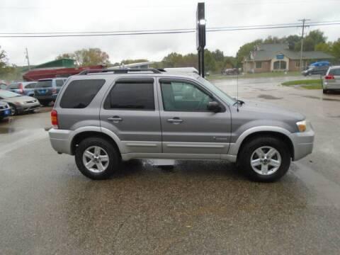 2007 Ford Escape Hybrid for sale at Michigan Auto Sales in Kalamazoo MI