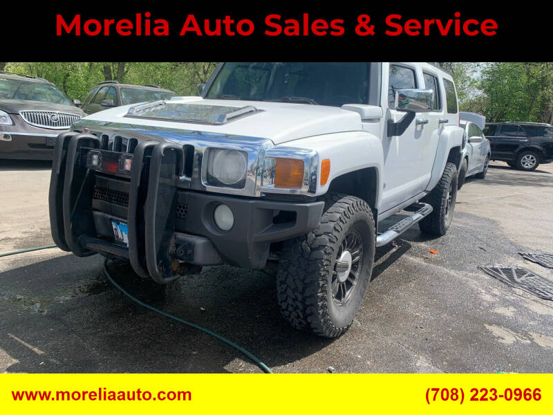2006 HUMMER H3 for sale at Morelia Auto Sales & Service in Maywood IL