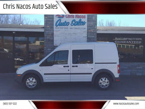 2013 Ford Transit Connect for sale at Chris Nacos Auto Sales in Derry NH