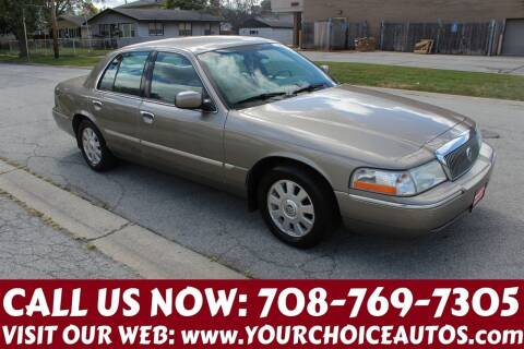 2003 Mercury Grand Marquis for sale at Your Choice Autos in Posen IL