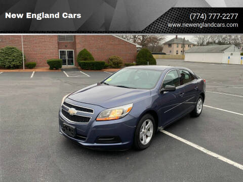 2013 Chevrolet Malibu for sale at New England Cars in Attleboro MA