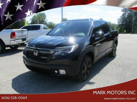 2017 Honda Ridgeline for sale at Mark Motors Inc in Gray KY