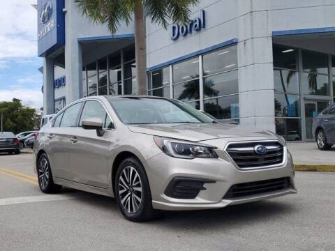 2018 Subaru Legacy for sale at DORAL HYUNDAI in Doral FL