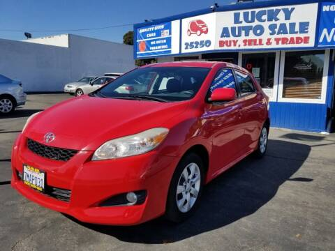 2012 Toyota Matrix for sale at Lucky Auto Sale in Hayward CA
