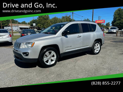 2011 Jeep Compass for sale at Drive and Go, Inc. in Hickory NC