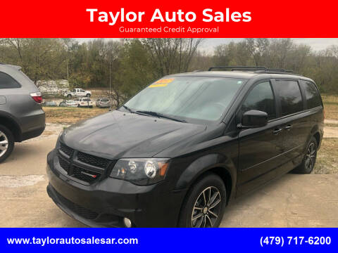 2017 Dodge Grand Caravan for sale at Taylor Auto Sales in Springdale AR