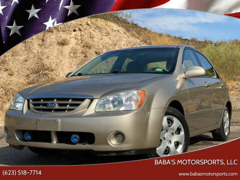 2006 Kia Spectra for sale at Baba's Motorsports, LLC in Phoenix AZ