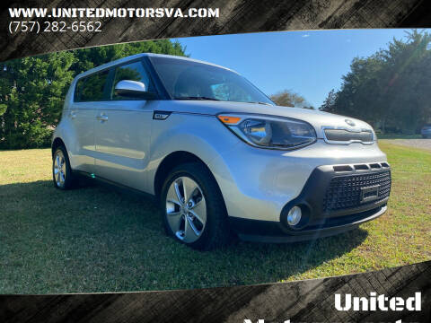 2015 Kia Soul for sale at United Motorsports in Virginia Beach VA