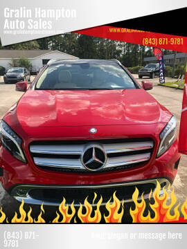 2015 Mercedes-Benz GLA for sale at Gralin Hampton Auto Sales in Summerville SC