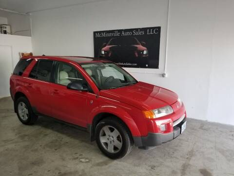 2004 Saturn Vue for sale at McMinnville Auto Sales LLC in Mcminnville OR
