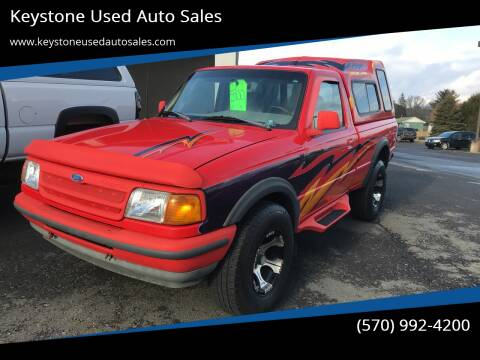 1993 Ford Ranger for sale at Keystone Used Auto Sales in Brodheadsville PA