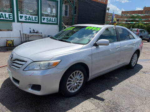 2010 Toyota Camry for sale at Barnes Auto Group in Chicago IL