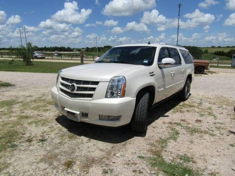 2012 Cadillac Escalade ESV for sale at Hill Top Sales in Brenham TX