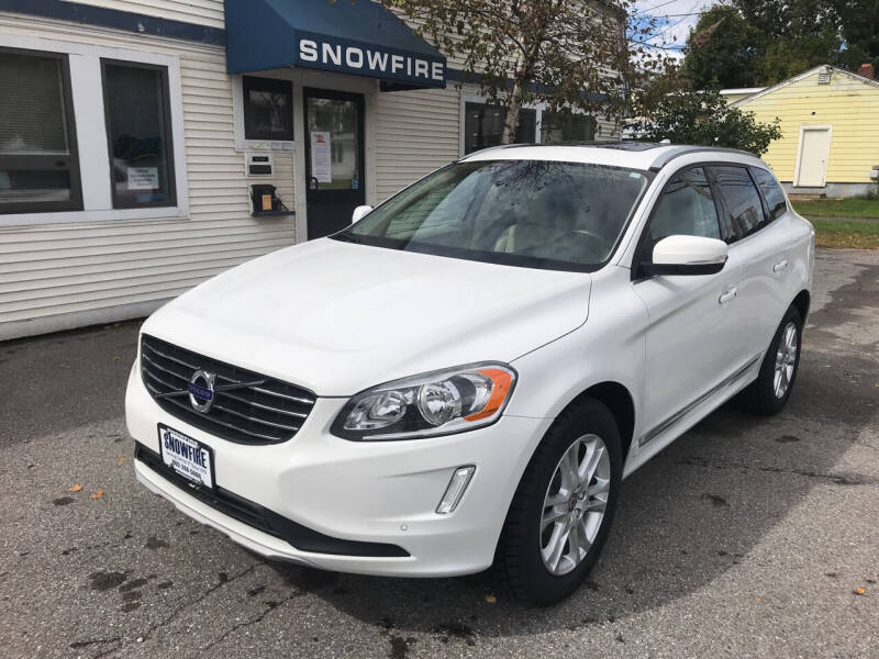 2016 Volvo XC60 for sale at Snowfire Auto in Waterbury VT