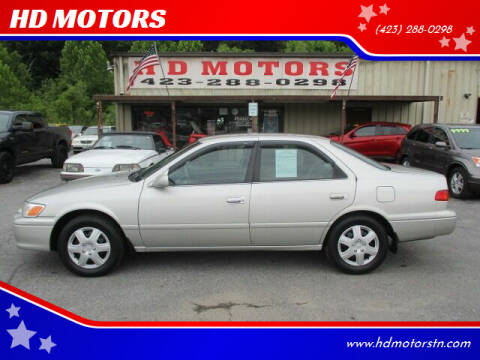 2001 Toyota Camry for sale at HD MOTORS in Kingsport TN