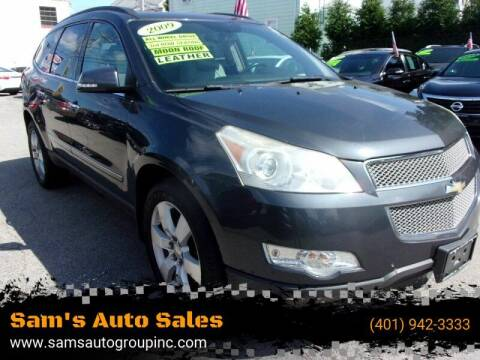 2009 Chevrolet Traverse for sale at Sam's Auto Sales in Cranston RI