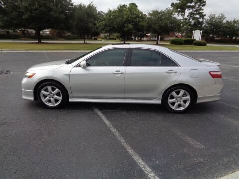 2009 Toyota Camry for sale at BALKCUM AUTO INC in Wilmington NC