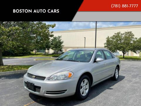 2007 Chevrolet Impala for sale at Boston Auto Cars in Dedham MA