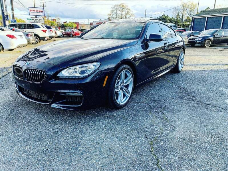 2015 BMW 6 Series for sale at First Union Auto in Seattle WA