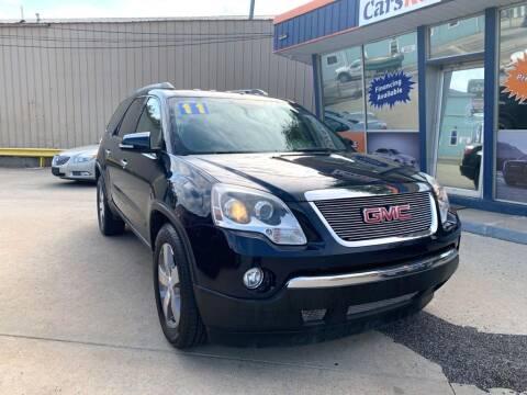 2011 GMC Acadia for sale at Carsko Auto Sales in Bartonville IL