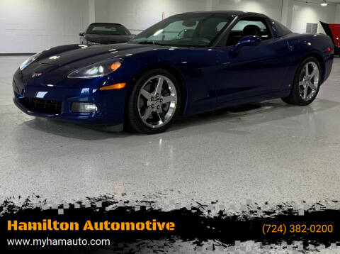 2007 Chevrolet Corvette for sale at Hamilton Automotive in North Huntingdon PA