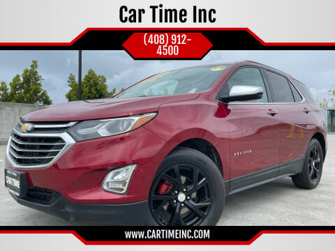 2018 Chevrolet Equinox for sale at Car Time Inc in San Jose CA