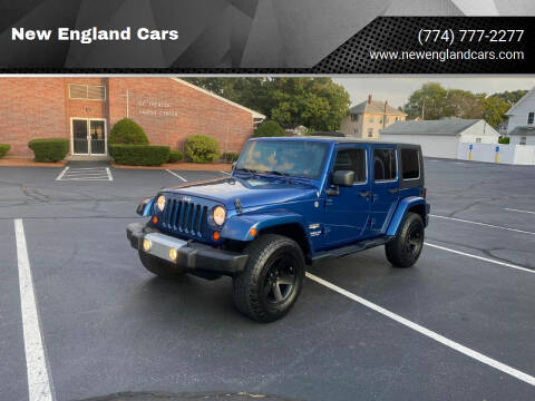 2009 Jeep Wrangler Unlimited for sale at New England Cars in Attleboro MA