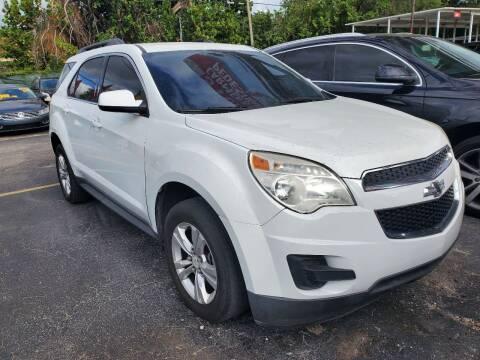 2013 Chevrolet Equinox for sale at America Auto Wholesale Inc in Miami FL