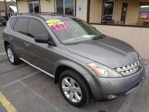 2006 Nissan Murano for sale at BBL Auto Sales in Yakima WA