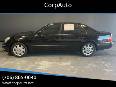 2003 Lexus LS 430 for sale at CorpAuto in Cleveland GA