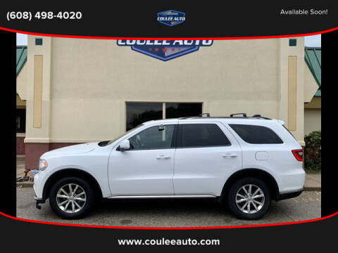 2014 Dodge Durango for sale at Coulee Auto in La Crosse WI