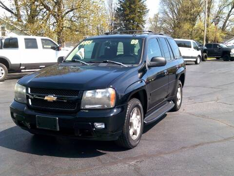 2009 Chevrolet TrailBlazer for sale at Stoltz Motors in Troy OH