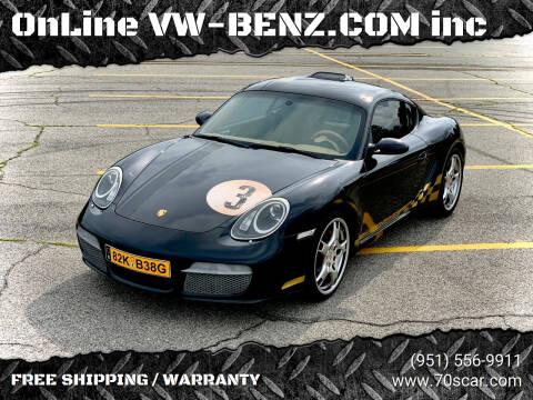2008 Porsche Cayman for sale at OnLine VW-BENZ.COM Auto Group in Riverside CA