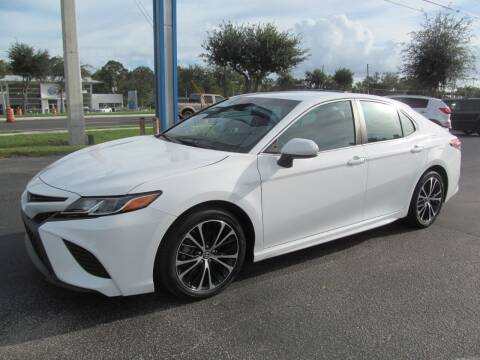 2018 Toyota Camry for sale at Blue Book Cars in Sanford FL