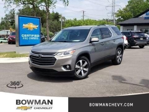 2018 Chevrolet Traverse for sale at Bowman Auto Center in Clarkston MI