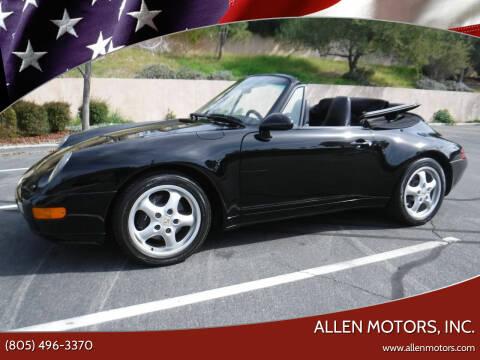 1995 Porsche 911 for sale at Allen Motors, Inc. in Thousand Oaks CA