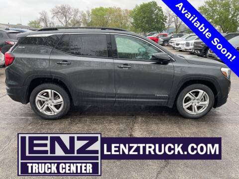 2020 GMC Terrain for sale at LENZ TRUCK CENTER in Fond Du Lac WI