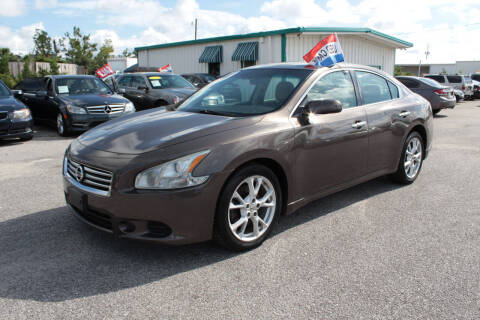 2013 Nissan Maxima for sale at Jamrock Auto Sales of Panama City in Panama City FL