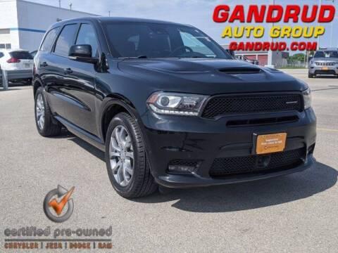 2018 Dodge Durango for sale at Gandrud Dodge in Green Bay WI