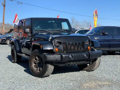 2011 Jeep Wrangler Unlimited for sale at A&M Auto Sale in Edgewood MD