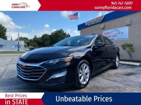 2019 Chevrolet Malibu for sale at Sunny Florida Cars in Bradenton FL