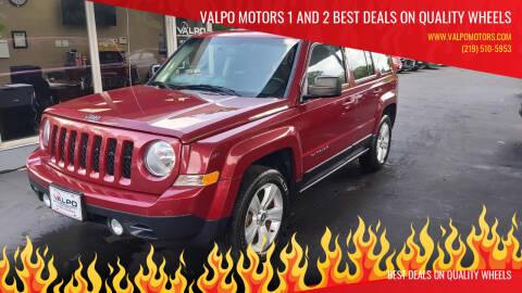 2014 Jeep Patriot for sale at Valpo Motors Inc. in Valparaiso IN