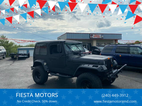 1988 Jeep Wrangler for sale at FIESTA MOTORS in Hagerstown MD