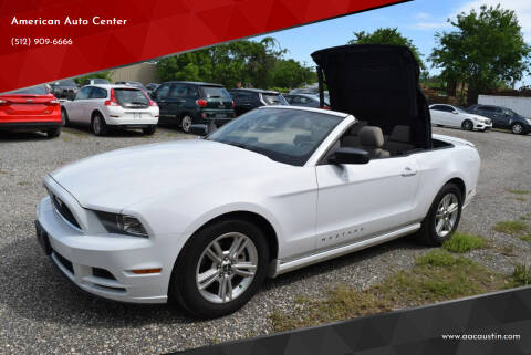 2014 Ford Mustang for sale at American Auto Center in Austin TX