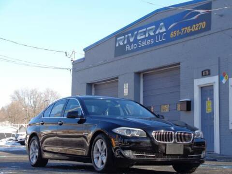 2011 BMW 5 Series for sale at Rivera Auto Sales LLC in Saint Paul MN