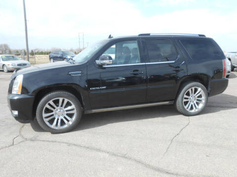 2014 Cadillac Escalade for sale at Salmon Automotive Inc. in Tracy MN